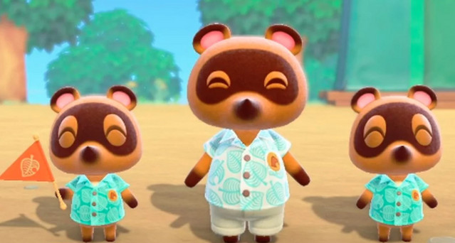 Tom Nook villain image