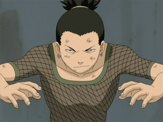 Shikamaru in action