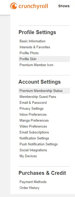 Crunchyroll - Forum - I want to delete my credit card off of here