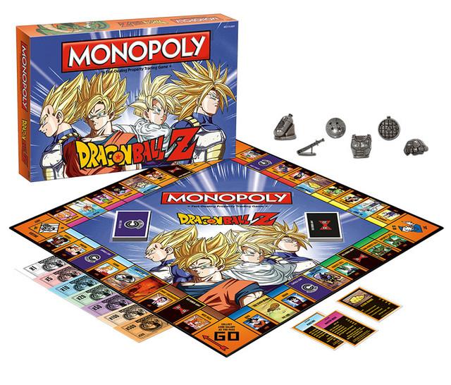 Dragon Balla Z Monopoly
