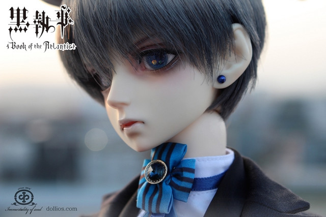 Crunchyroll - Black Butler Ciel Phantomhive's Cast Doll