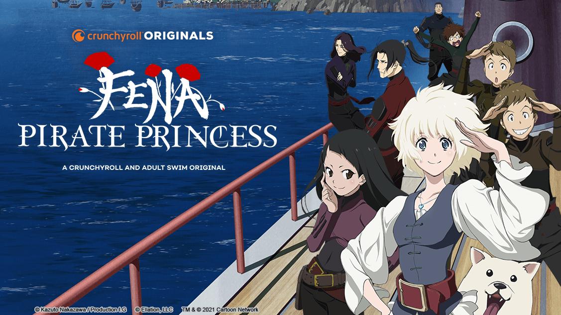 Fena: Pirate Princess se estrena el 14 de agosto en Crunchyroll y Adult Swim
