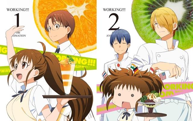 Kết quả hình ảnh cho Working!! anime