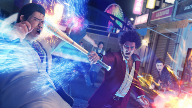 Yakuza: Like a Dragon on Xbox Series X