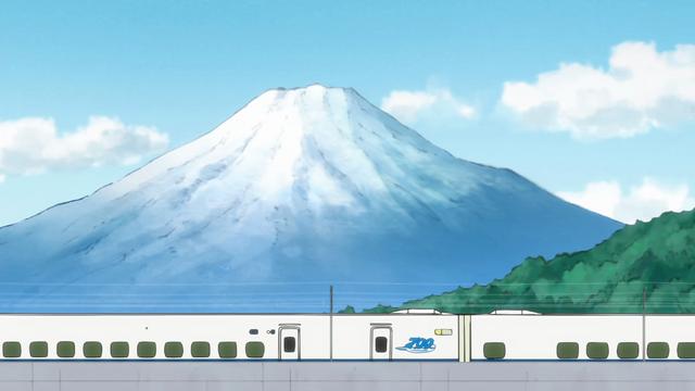 Mt. Fuji in K-ON!!