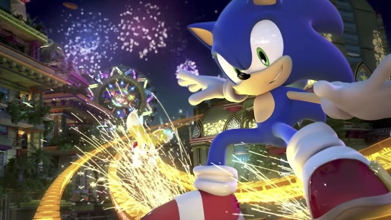 Colores Sonic