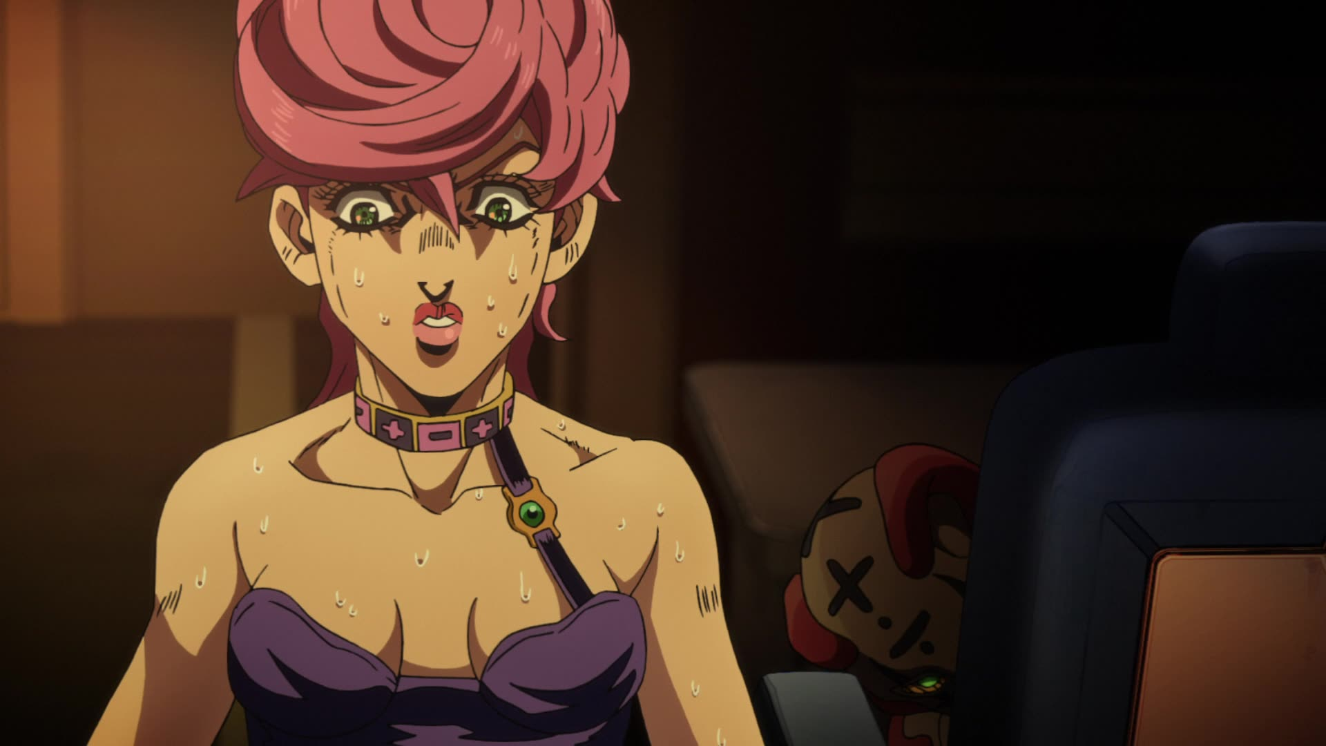 JoJo's Bizarre Adventure: Golden Wind Episode 25, Spicy Lady