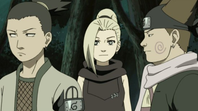 Naruto Shippuden: Paradise on Water Episode 239, The Legendary Ino
