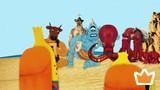 Wacky TV Nanana Chase the Kraken Monster! Episode 23