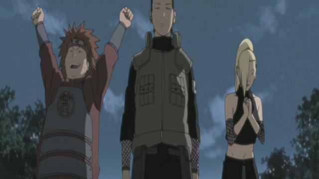 Naruto Shippuden: Hidan and Kakuzu Episode 82, Team Ten