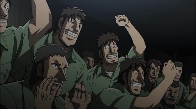 Image result for forty fivers kaiji