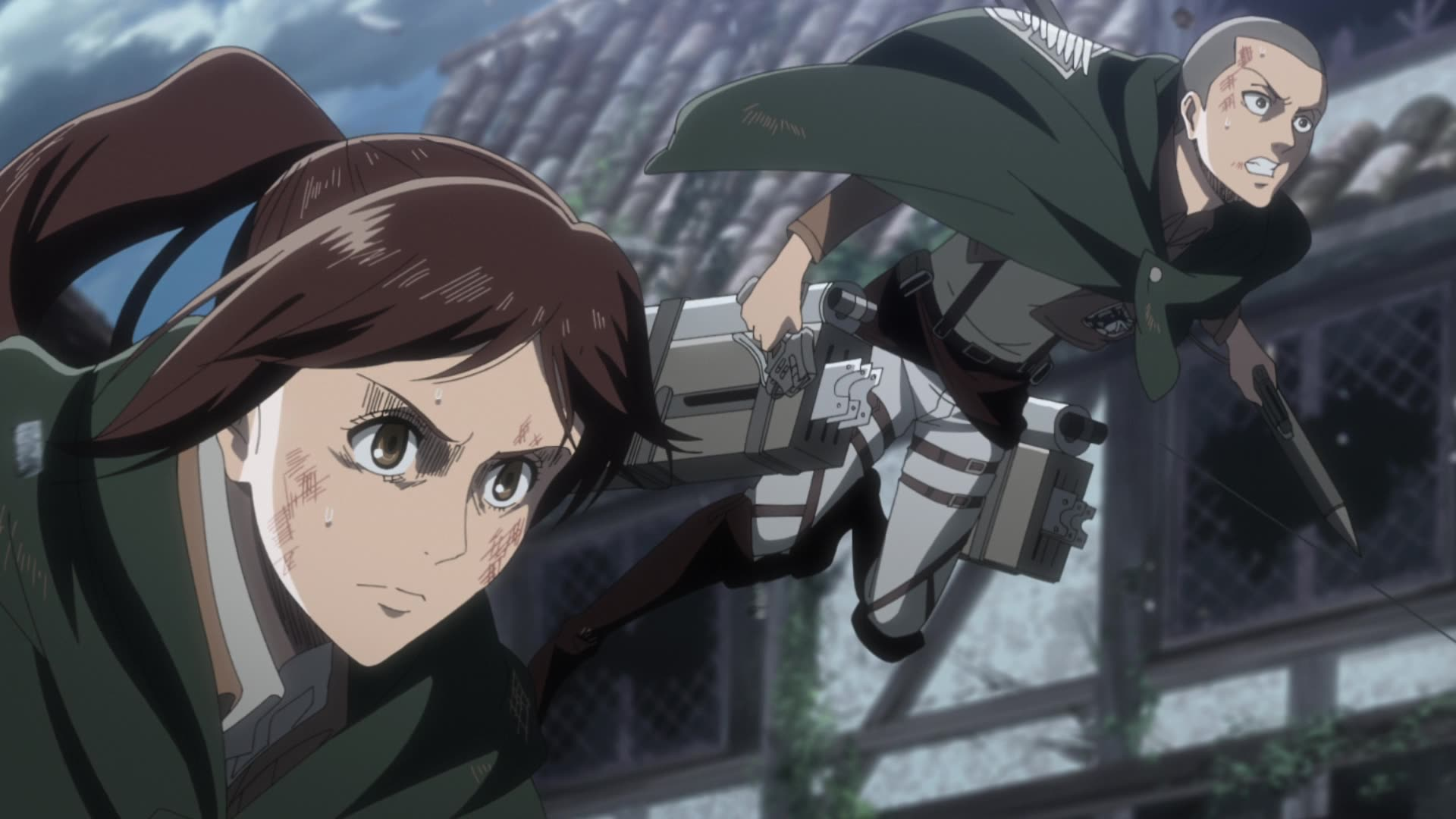 Attack on Titan Season 3 Episode 54, Hero, - Watch on
