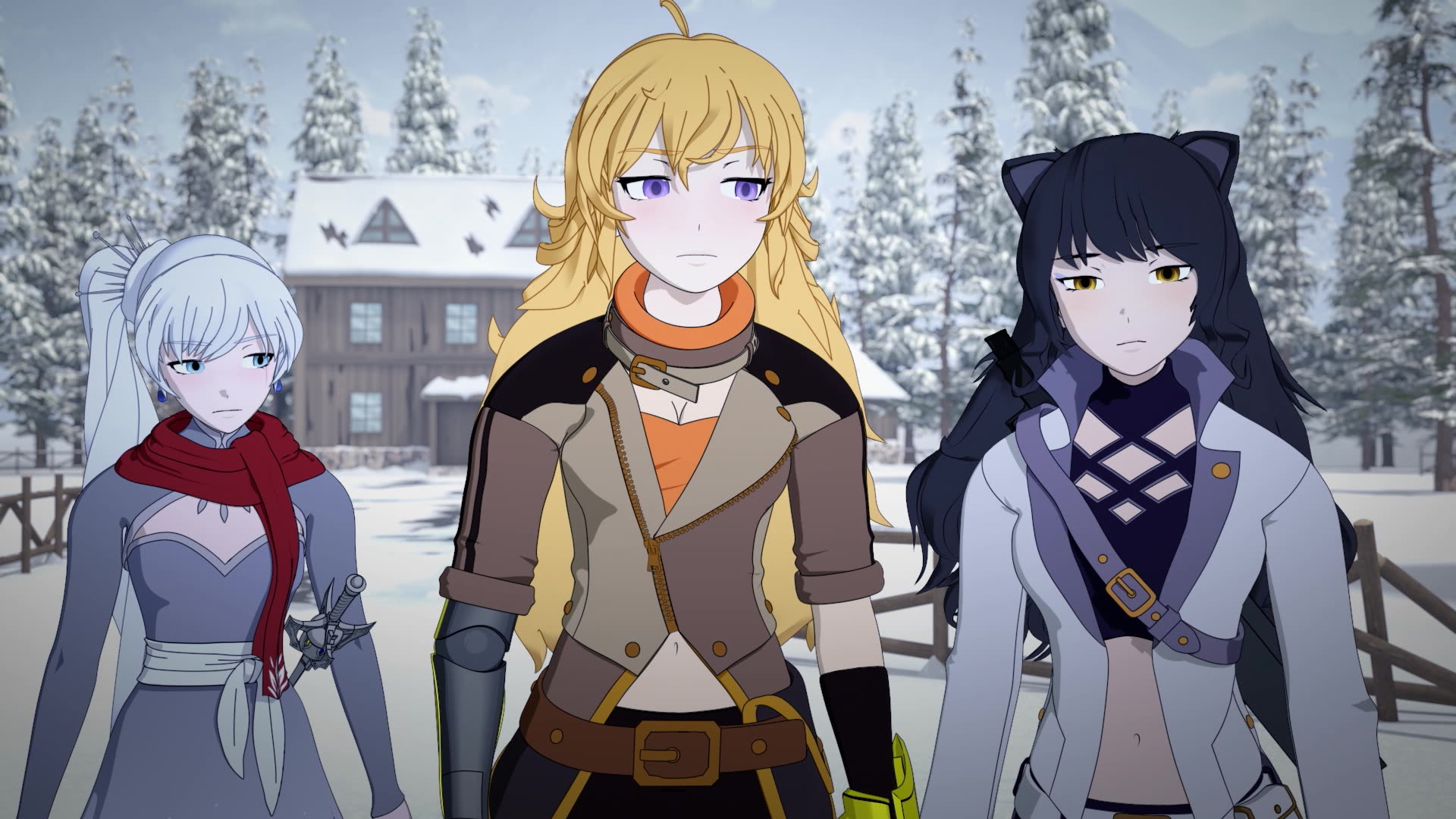 RWBY Volume 6 Episode 6, Alone in the Woods, - Watch on