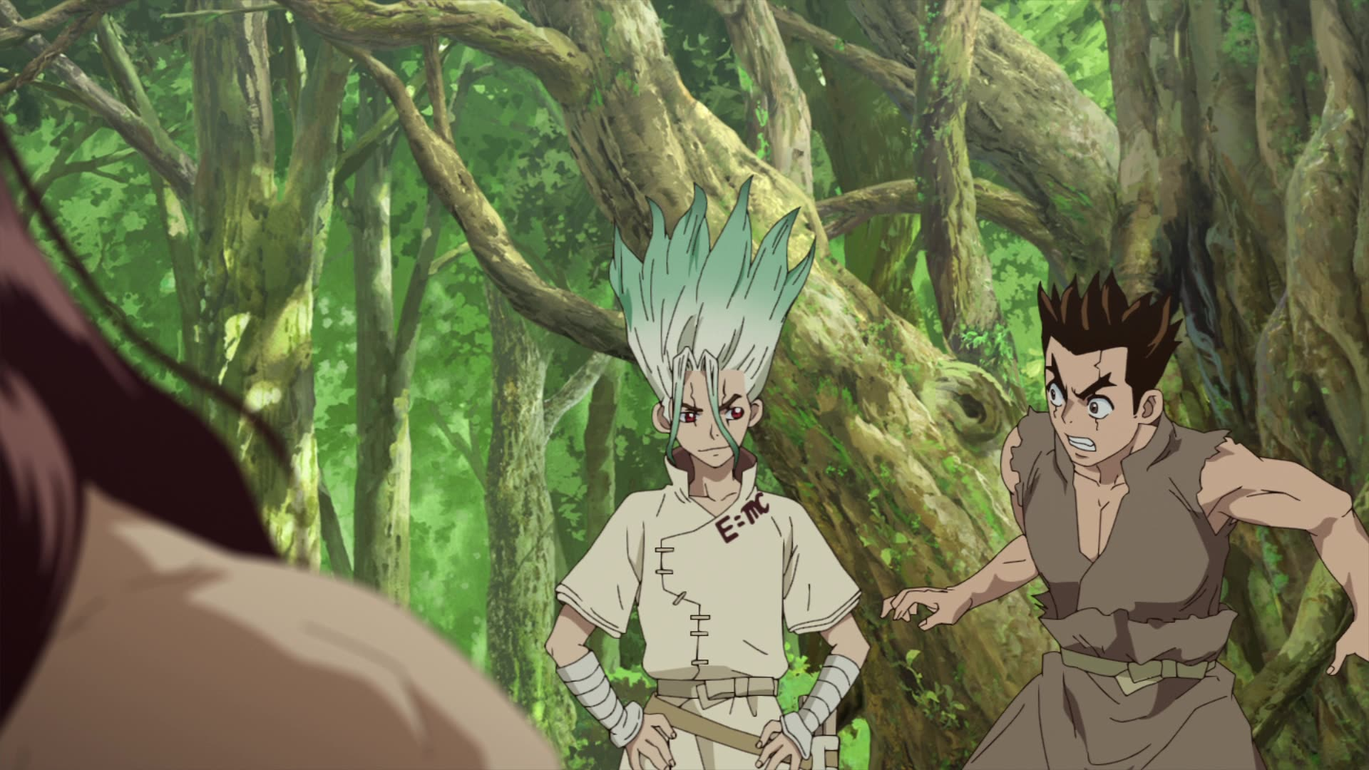 Dr Stone Episodio 2 King Of The Stone World Ver En Crunchyroll