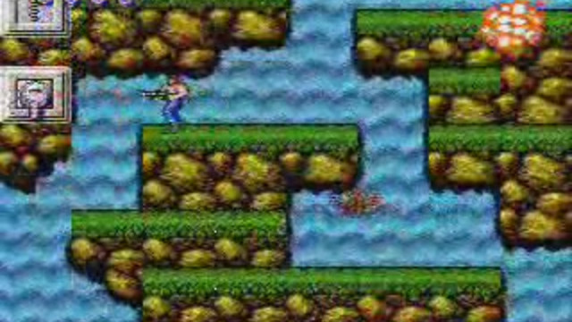 Old School Contra - Stage 3 - Waterfall - Watch on Crunchyroll