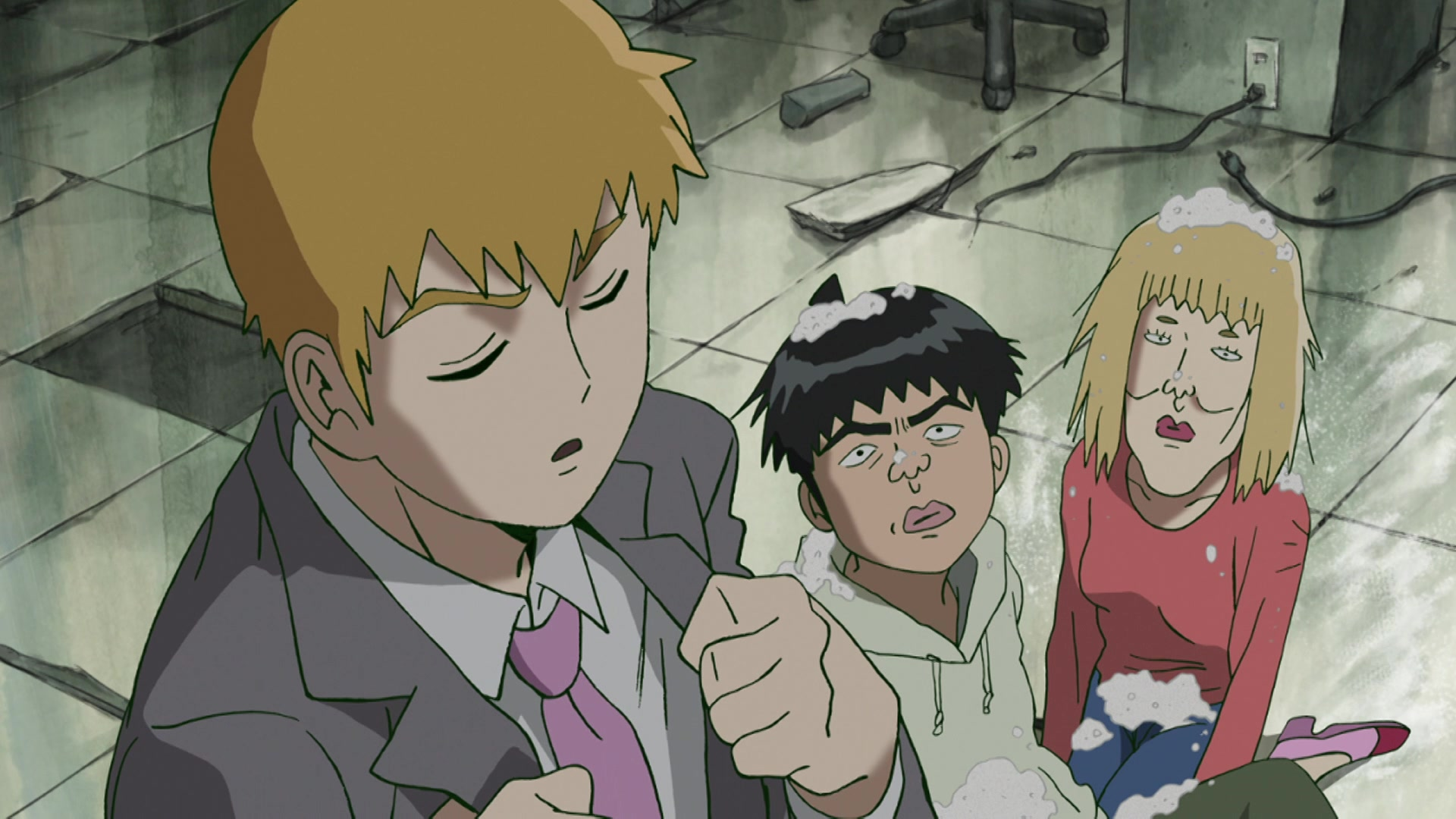 Mob Psycho 100 Episode 1, Self-Proclaimed Psychic: Reigen