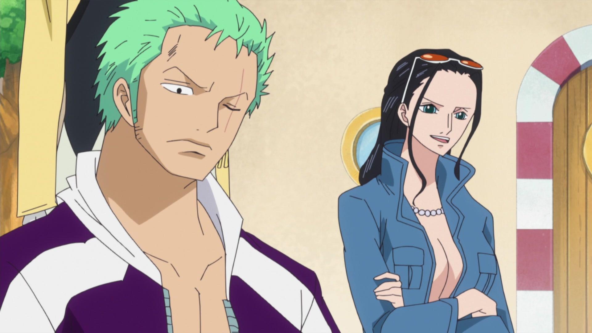 One Piece: Punk Hazard (575-629) Episode 575, Z's Ambition! Lily the