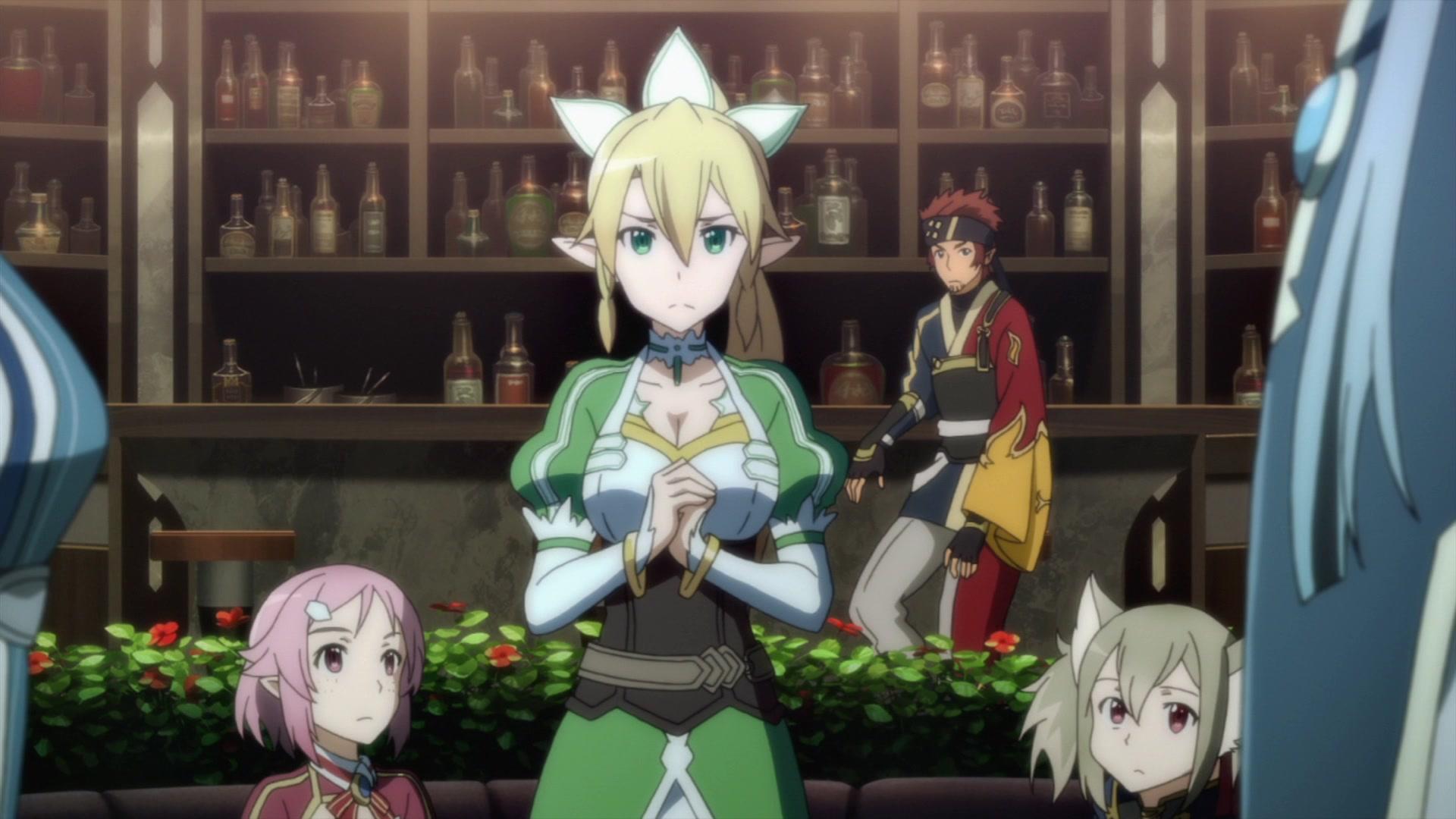 Sword Art Episode 11 English Dub