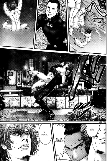 Gantz manga sex scenes