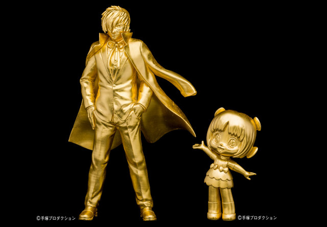 Golden Tezuka Statues