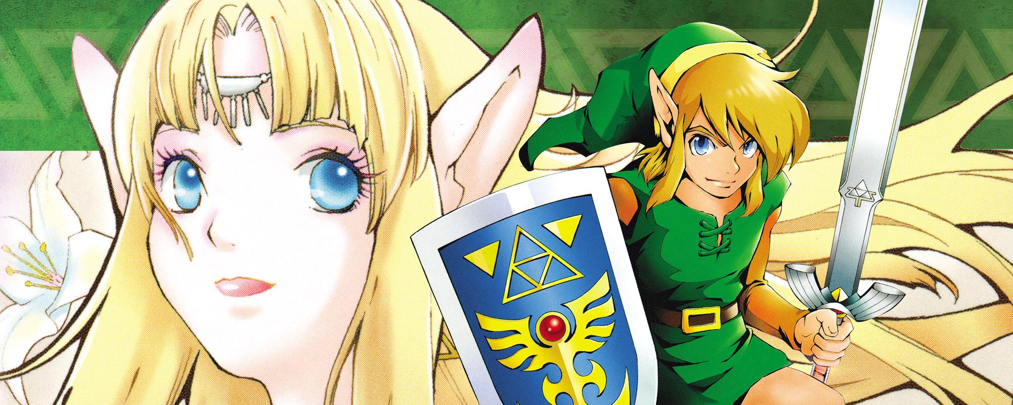 Zelda manga