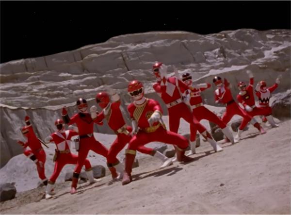 varios Red Rangers