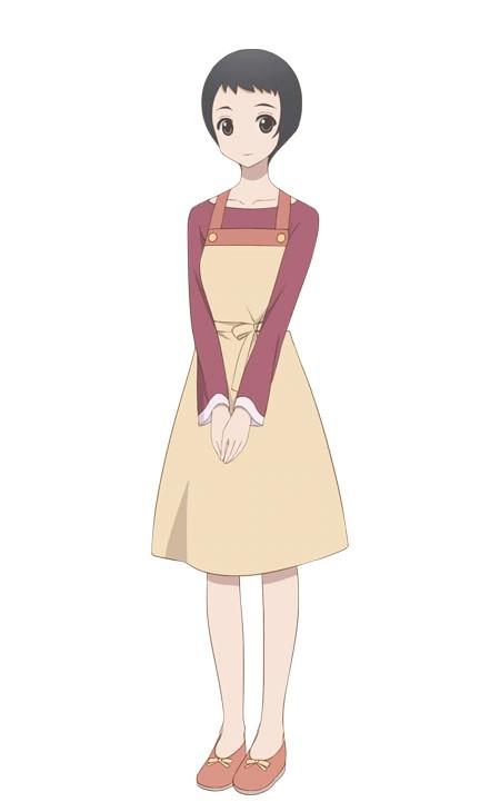 You Shiokoshi, a cooking adviser from the upcoming Kakushigoto TV anime.