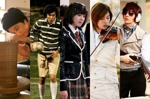 """Boys Over Flowers Cast Leave for Jeju Island,"" Wednesday March 11, 2009 Korea"