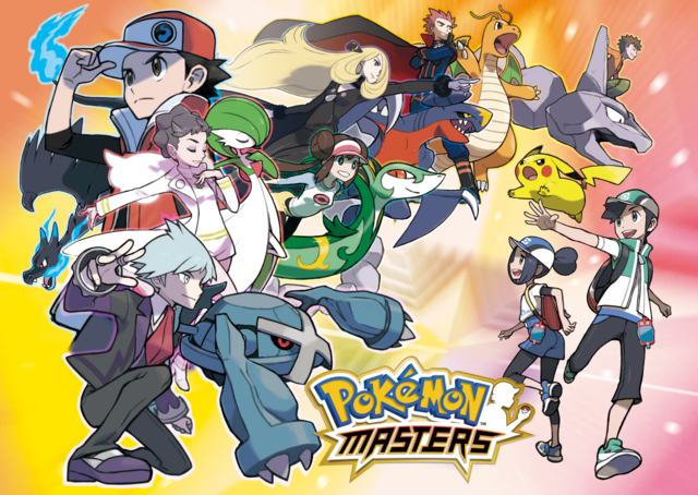 Pokémon Masters key artwork