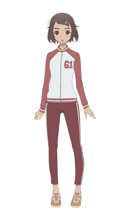 Un personaje visual de Ichiko Rokujou, una maestra del próximo anime de televisión Kakushigoto.