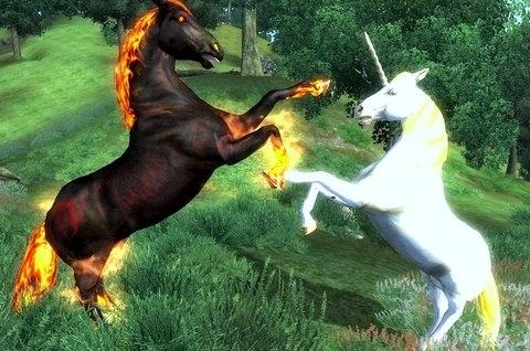 dragon vs unicorn