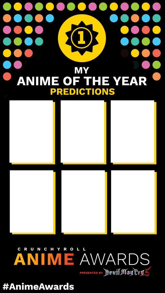 My Anime Awards Predictions