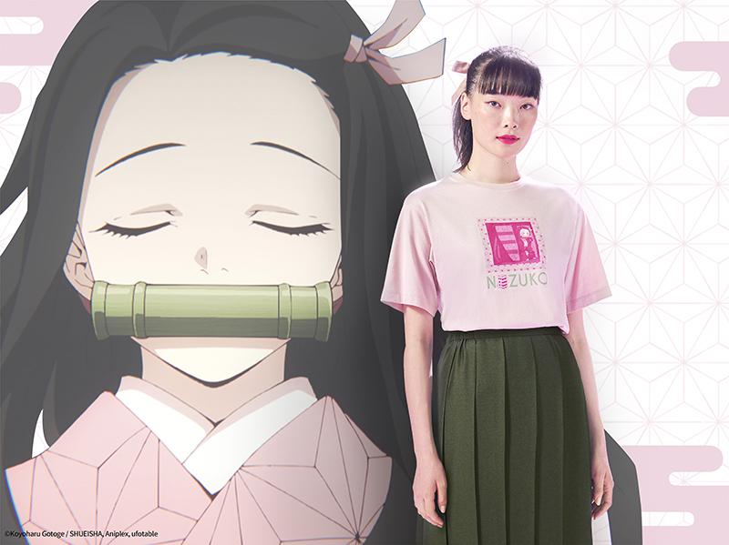 Camisa Mujer Demon Slayer - Nezuko