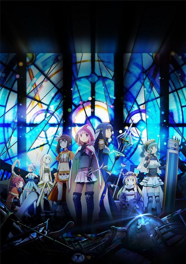 Magia Record: Puella Magi Madoka Magica Side Story Key Visual