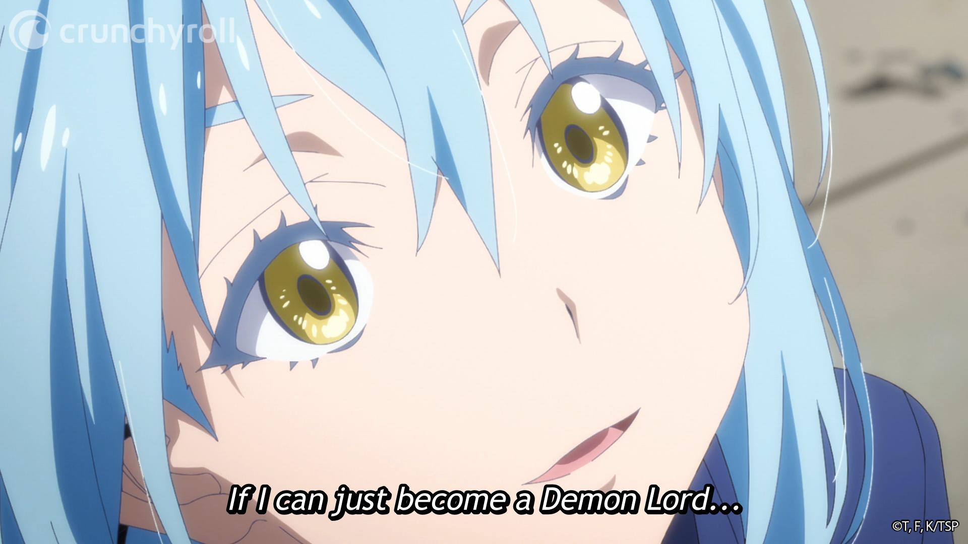 Rimuru desea ser un Señor Demonio en ese momento en que me reencarné como un limo