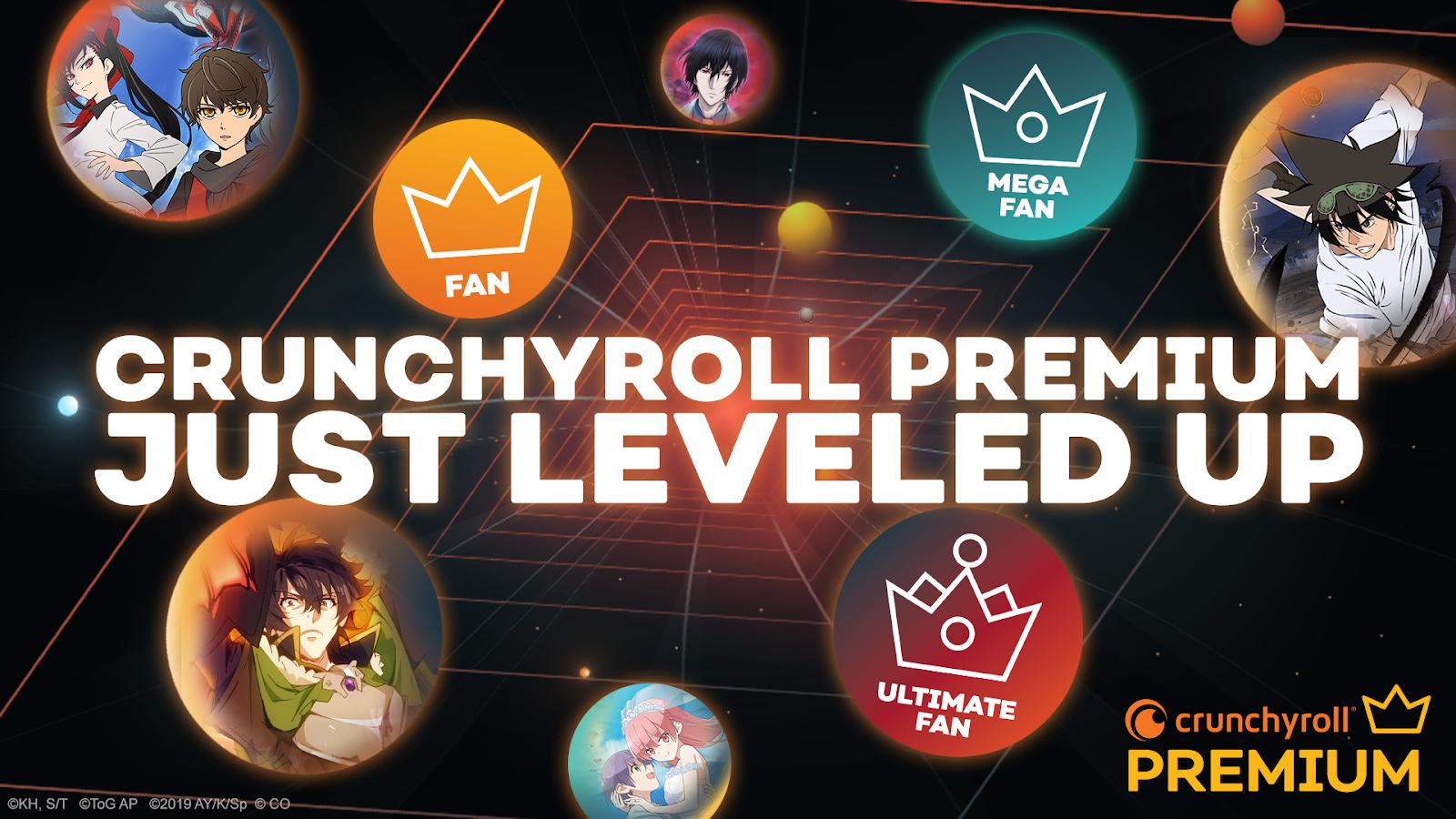 Crunchyroll Premium Tiers