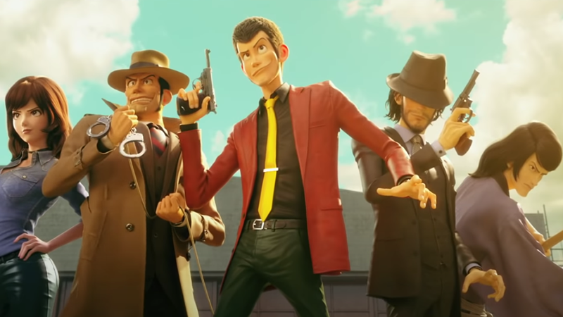 The cast of Lupin III: The First