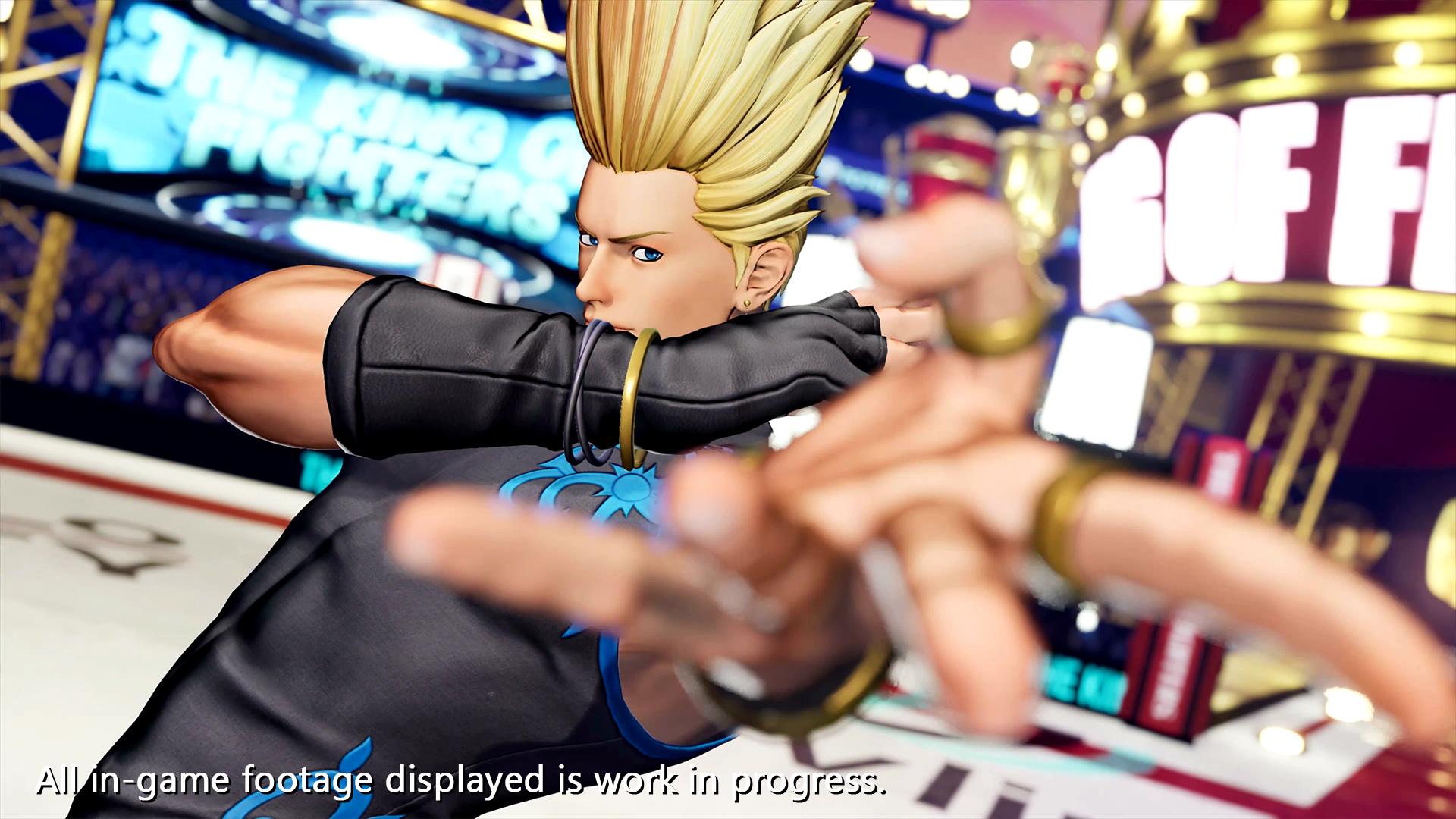 Tráiler de The King of Fighters XV Benimaru