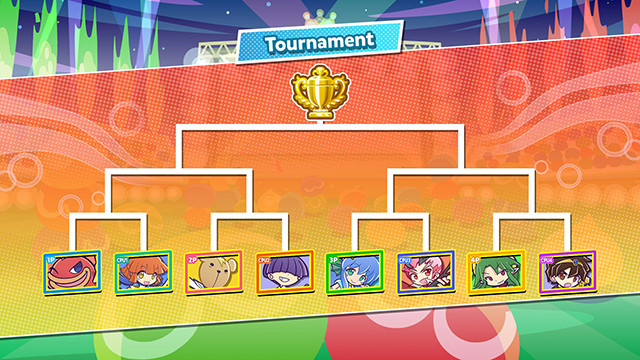 Square off in the Tournament Mode!