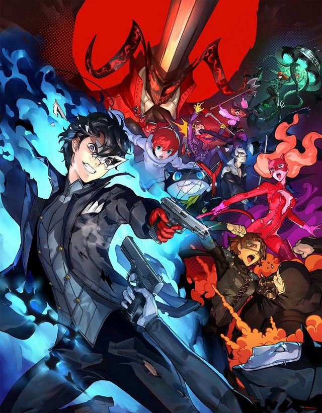 Persona 5 Scramble: The Phantom Strikers Key Art