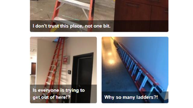 Chris Sabat Ladders Yelp Review