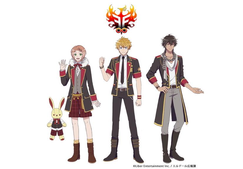 Configuración de personajes de anime F∞F
