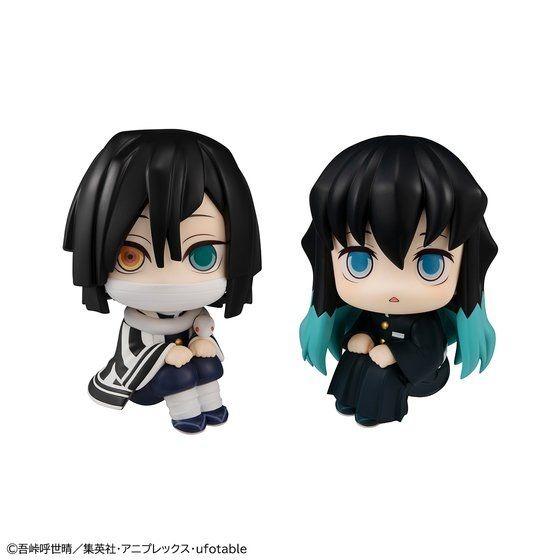 Figuras de búsqueda de Iguro y Tokito, mirando al frente