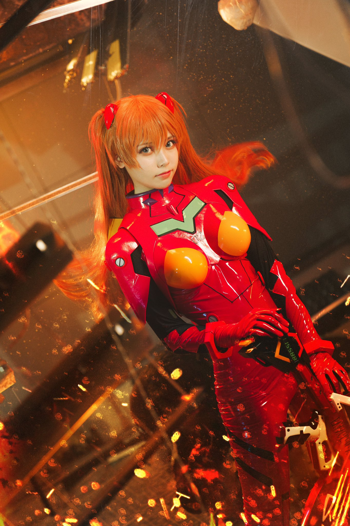 Liyuu as Asuka from Evangelion