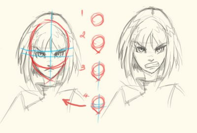 Line Drawing Face : Crunchyroll groups anime drawing