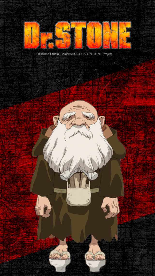Old Man Kaseki from Dr. STONE