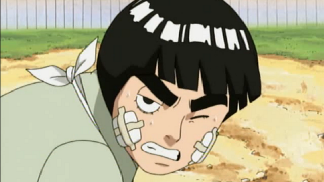Rock Lee Doing Push-Ups 2