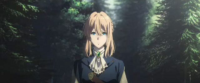 Violet Evergarden - Eternity and the Auto Memory Doll -