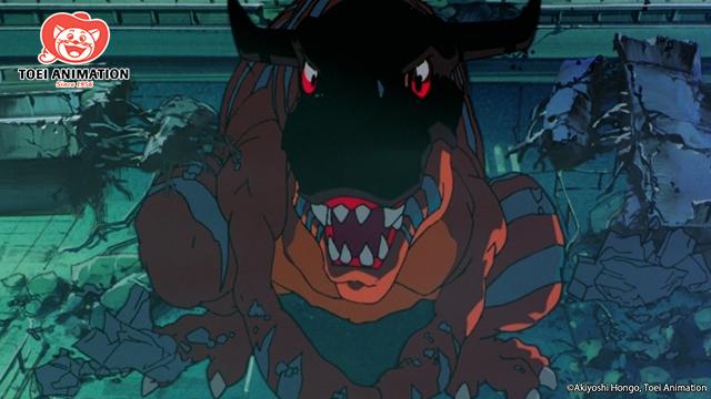 Greymon, Digimon