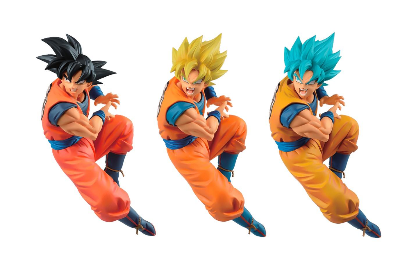 Figuras del día de Goku